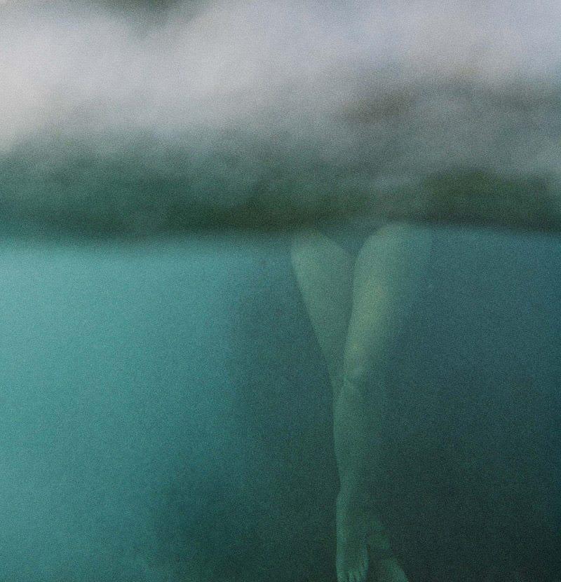 Legs Under Water