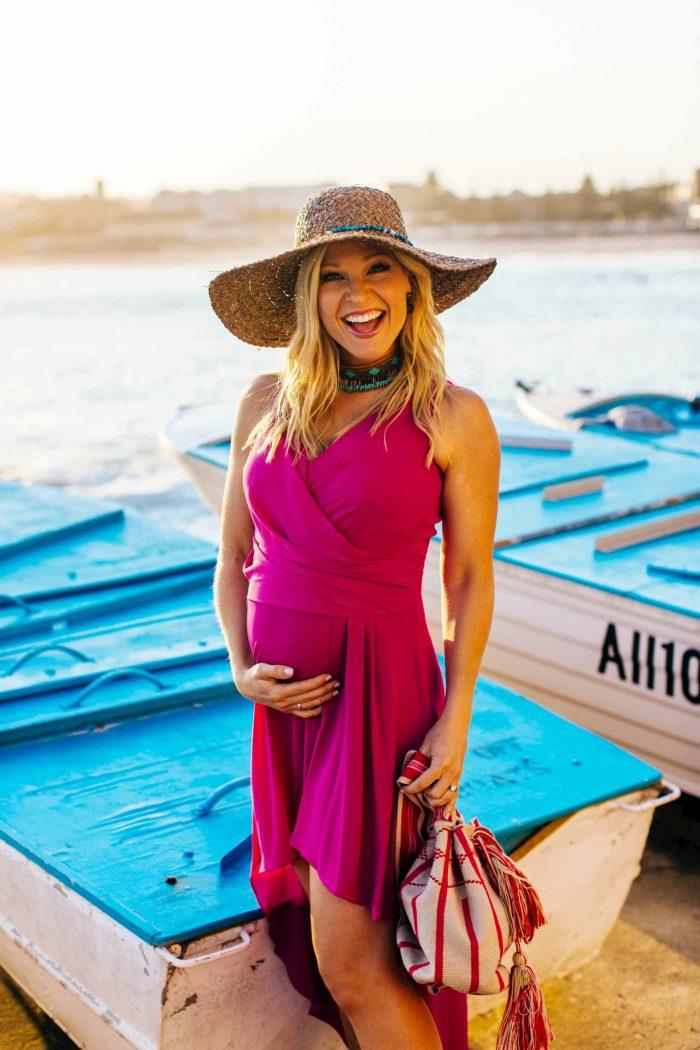 pretty maternity photoshoot